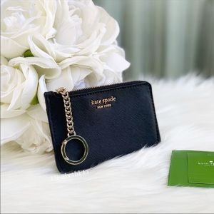 Kate Spade Cameron Medium L-Zip Card Holder